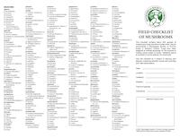 MST field species checklist PDF